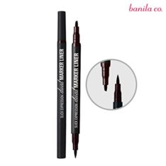 Banila Co. Slick Expression Dual Marker Liner 1.5g korean cosmetic skincare product online shop malaysia singapore indonesia