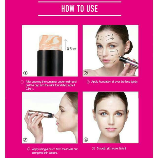 Perfect Skin Absolute Marble Stick Foundation Spf50 Pa Favful