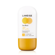korean Laneige Malaysia Sun Block Aqua SPF35 PA++ cosmetic skincare product online