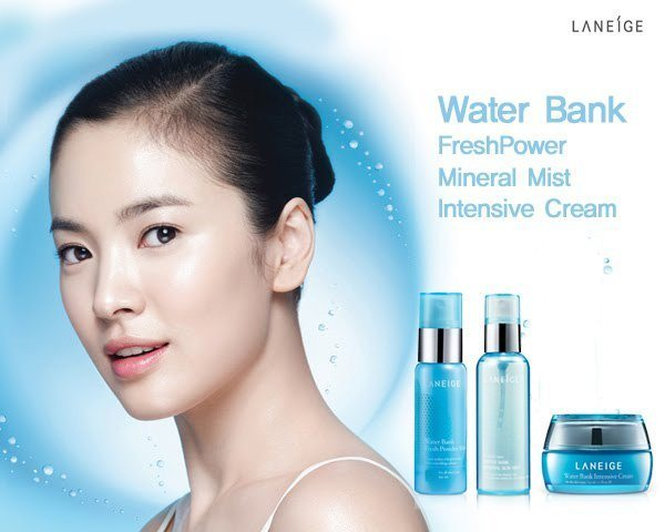 korean Laneige Sparkling Waterbank Mineral Skin Mist cosmetic skincare product price malaysia