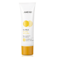 korean Laneige Sun Block Sensitive SPF30 cosmetic skincare product price malaysia