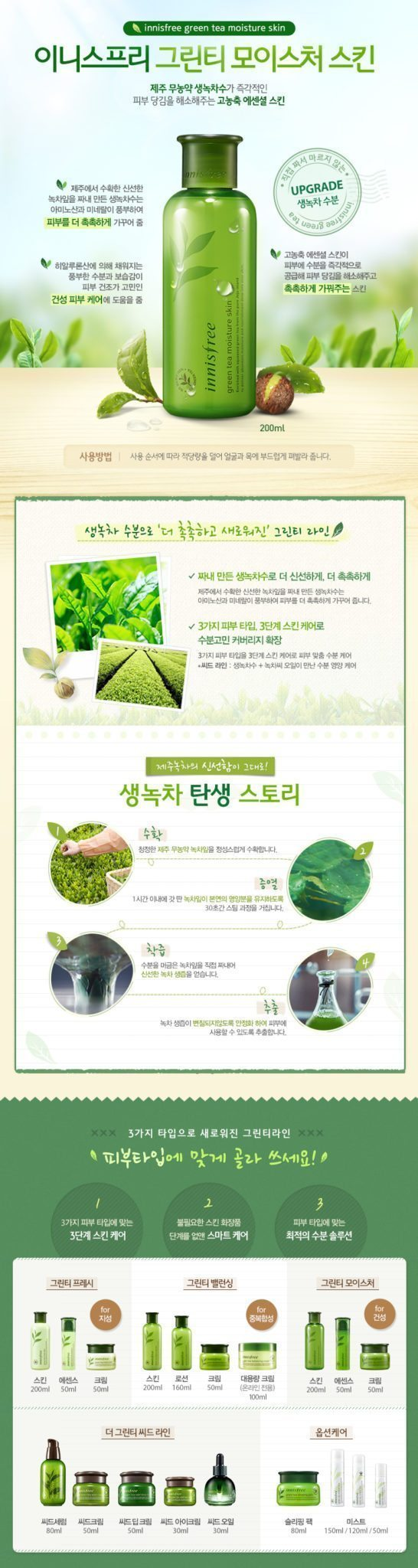 Innisfree Green Tea Moisture Skin Toner price malaysia singapore thailand vietnam philippine indonesia1