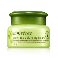 Innisfree Malaysia Green Tea Balancing Cream 50ml skincare beautycare cosmetic makeup