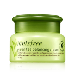 Innisfree Malaysia Green Tea Balancing Cream 50ml skincare beautycare cosmetic makeup