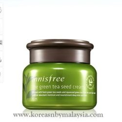 Innisfree The Green Tea Seed Cream 50ml malaysia skincare beautycare cosmetic makeup