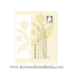 Innisfree White Tone Up 3D Sheet Mask 35ml malaysia skincare beautycare cosmetic makeup