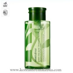 Innisfree Green Tea Pure Cleansing Water 300ml malaysia skincare beautycare cosmetic makeup