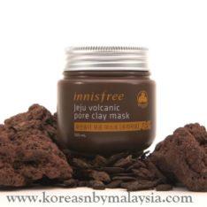 Innisfree Jeju Volcanic Pore Clay Mask 100ml (Original) malaysia skincare beautycare cosmetic makeup