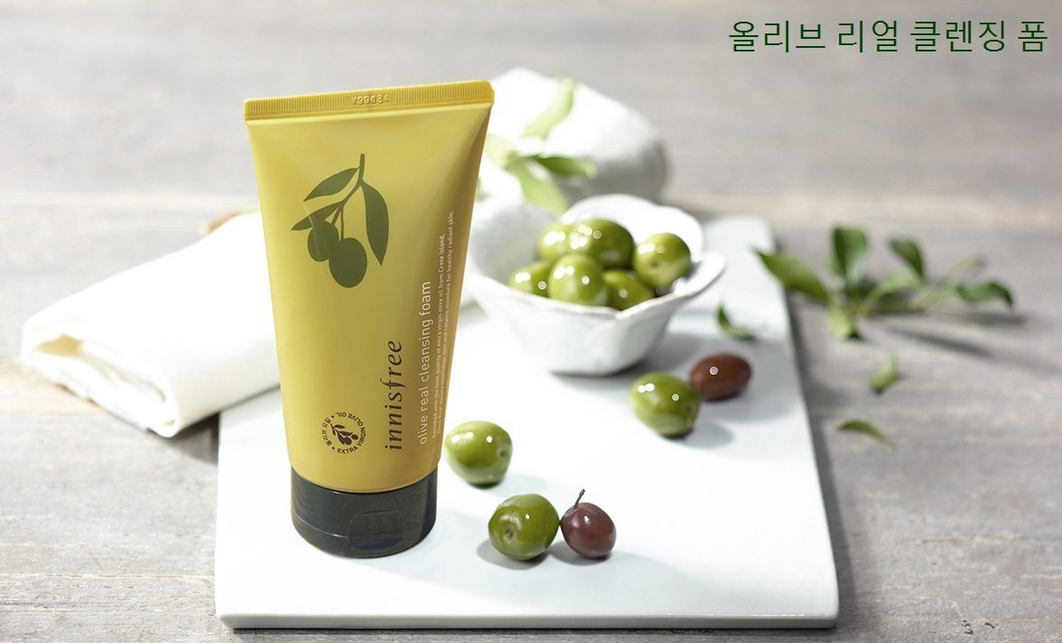 Innisfree Olive Real Cleansing Foam Malaysia Philippines Thailand Japan1