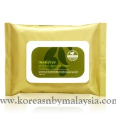 Innisfree Olive Real Cleansing Tissue 30 sheet 130g malaysia skincare beautycare cosmetic makeup