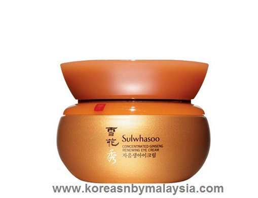 Sulwhasoo Concentrated Ginseng Renewing Eye Cream 25ml malaysia skincare beautycare makeup online malaysia
