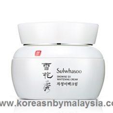 Sulwhasoo Snowise EX Whitening Cream 50ml malaysia skincare beautycare makeup online malaysia