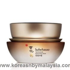 Sulwhasoo Timetreasure Renovating Cream 60ml malaysia skincare cleanser beautycare makeup online korea
