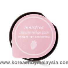 Innisfree Capsule Recipe Pack Yogurt 10ml malaysia skincare beautycare cosmetic makeup online shop