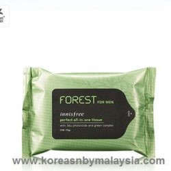 Innisfree For Men Perfect All in One Tissue 15pcs malaysia skincare beautycare cosmetic makeup online shop