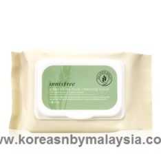 Innisfree Green Barley Multi Cleansing Tissue 50sheets 100g malaysia cleansing skincare beautycare cosmetic makeup online shop