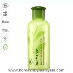 Innisfree Green Tea Balancing Skin Toner 200ml malaysia cleansing skincare beautycare cosmetic makeup online shop