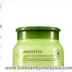 Innisfree Green Tea Sleeping Pack 80ml malaysia skincare beautycare cosmetic makeup online shop