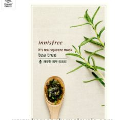 Innisfree It's Real Squeeze Mask Sheet 20ml malaysia skincare beautycare cosmetic makeup online shop