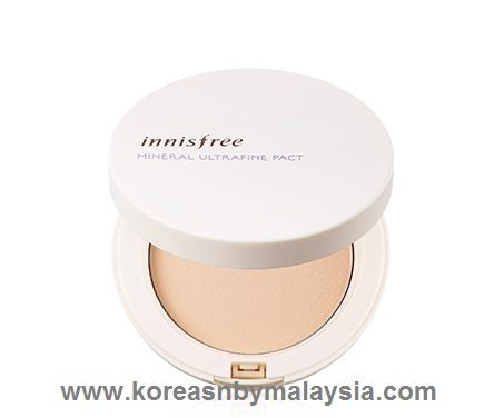 Innisfree Mineral Ultrafine Pact SPF 25 malaysia skincare beautycare cosmetic makeup online shop