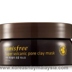 Innisfree Super Volcanic Pore Clay Mask 100ml malaysia skincare beautycare cosmetic makeup online shop