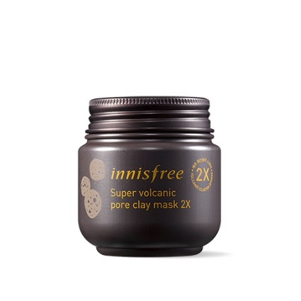 Innisfree Super Volcanic Pore Clay Mask korean cosmetic skincare product online shop malaysia china usa