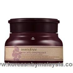 Innisfree Wine Jelly Sleeping Pack 80ml malaysia skincare beautycare cosmetic makeup online shop