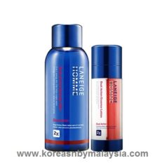 Laneige Homme Dual Action Set 190ml malaysia beauty skincare makeup online product price