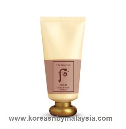 The History of Whoo Gongjinhyang Hand Cream SPF 10 85ml malaysia beauty skincare makeup online product price