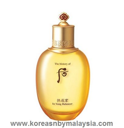 The History of Whoo Gongjinhyang In Yang Balancer 150ml malaysia beauty skincare makeup online product price