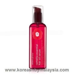 Innisfree Camellia Essential Hair Oil Serum 100ml malaysia cleansing skincare beautycare cosmetic makeup online shop