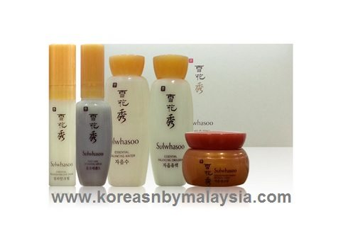 Sulwhasoo Essential Trial Kit 5 pcs 46.5ml malaysia beauty skincare makeup online product price