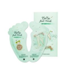 Etude House BeBe Foot Mask 20ml x 2 each malaysia cleansing makeup cosmetic skincare online shop
