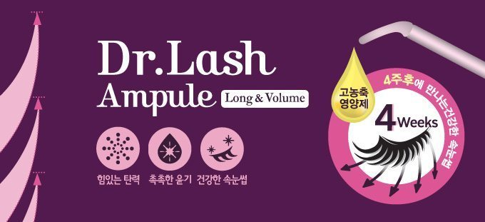 Etude House Dr. Lash Ampule Long and Volume 6ml + 6 ml malaysia cleansing makeup cosmetic skincare online shop 1