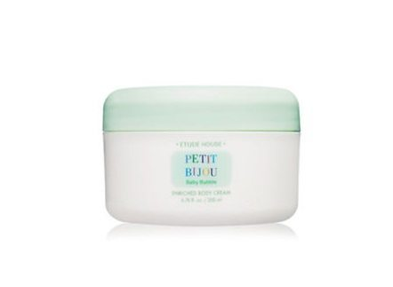 Etude House Petit Bijou Baby Bubble Enriched Body Cream 200ml malaysia cleansing makeup cosmetic skincare online shop