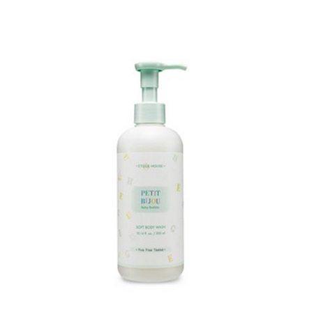 Etude House Petit Bijou Baby Bubble Soft Body Wash 300ml malaysia cleansing makeup cosmetic skincare online shop