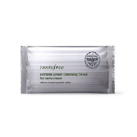 Innisfree Extreme Power Cleansing Tissue for Camo Cream Malaysia China Taiwan Uruguay
