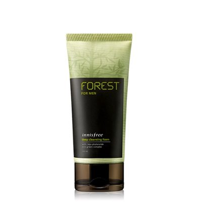 Innisfree Forest For Men Deep Cleansing Foam 150ml malaysia cleansing skincare beautycare cosmetic makeup online shop