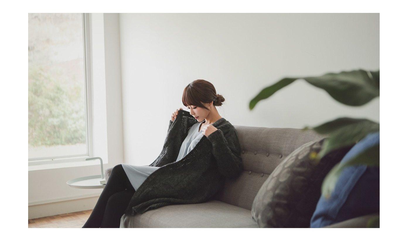Abel Pocket Long Cardigan Korean fasion online shop malaysia singapore brunei indonesia3
