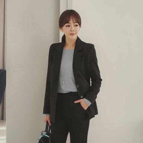 Basic Spring Jackets Korean style clothing shop malaysia singapore hongkong