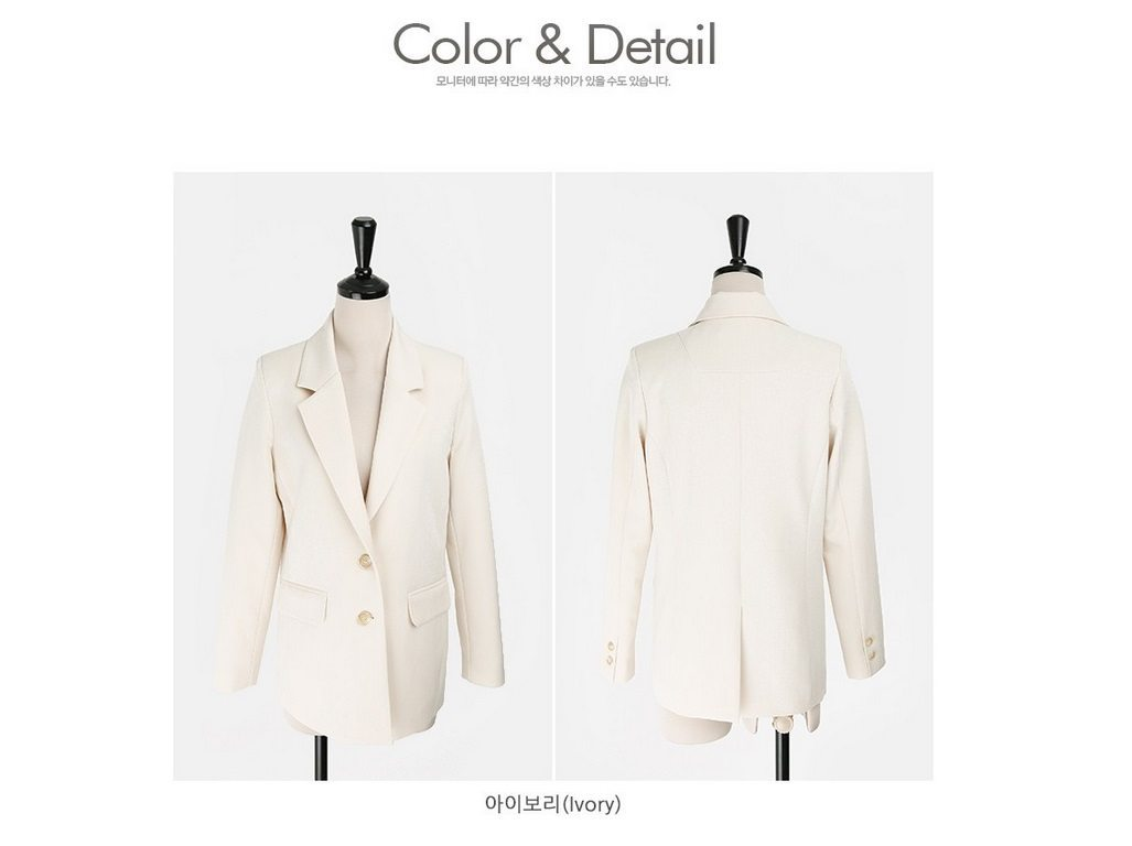 Basic Spring Jackets Korean style clothing shop malaysia singapore hongkong8