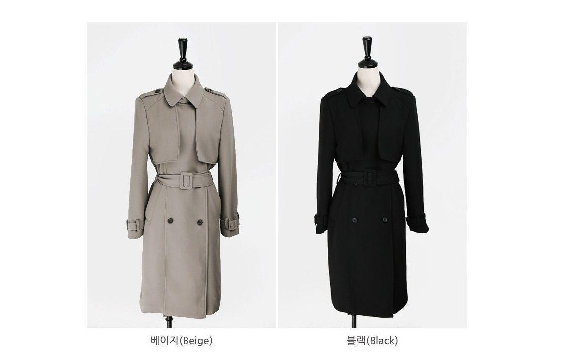 Basic Trench Coat Korean fasion 2015 online shop malaysia singapore brunei indonesia china15