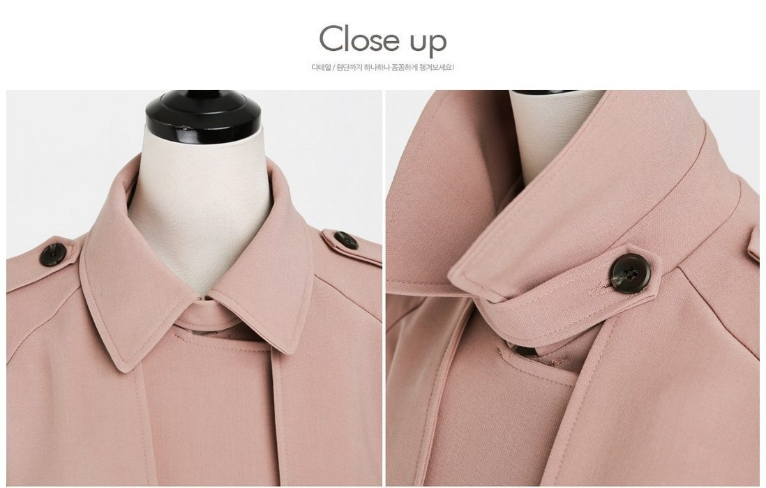 Basic Trench Coat Korean fasion 2015 online shop malaysia singapore brunei indonesia china16