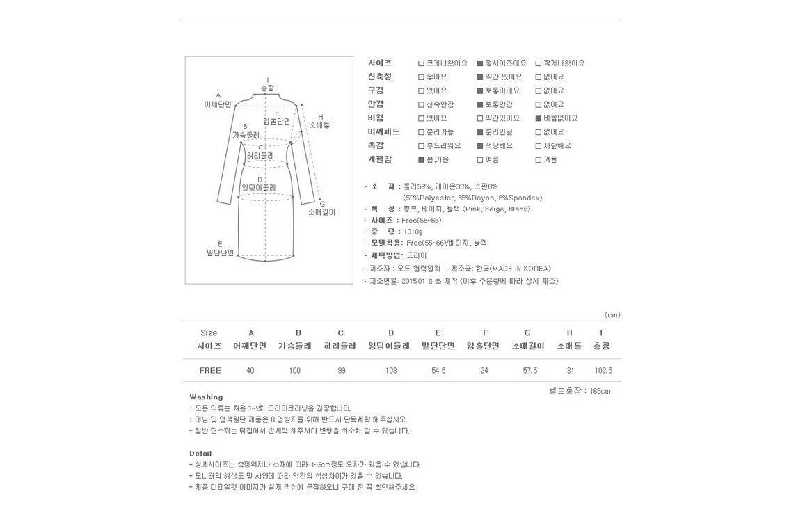 Basic Trench Coat Korean fasion 2015 online shop malaysia singapore brunei indonesia china2