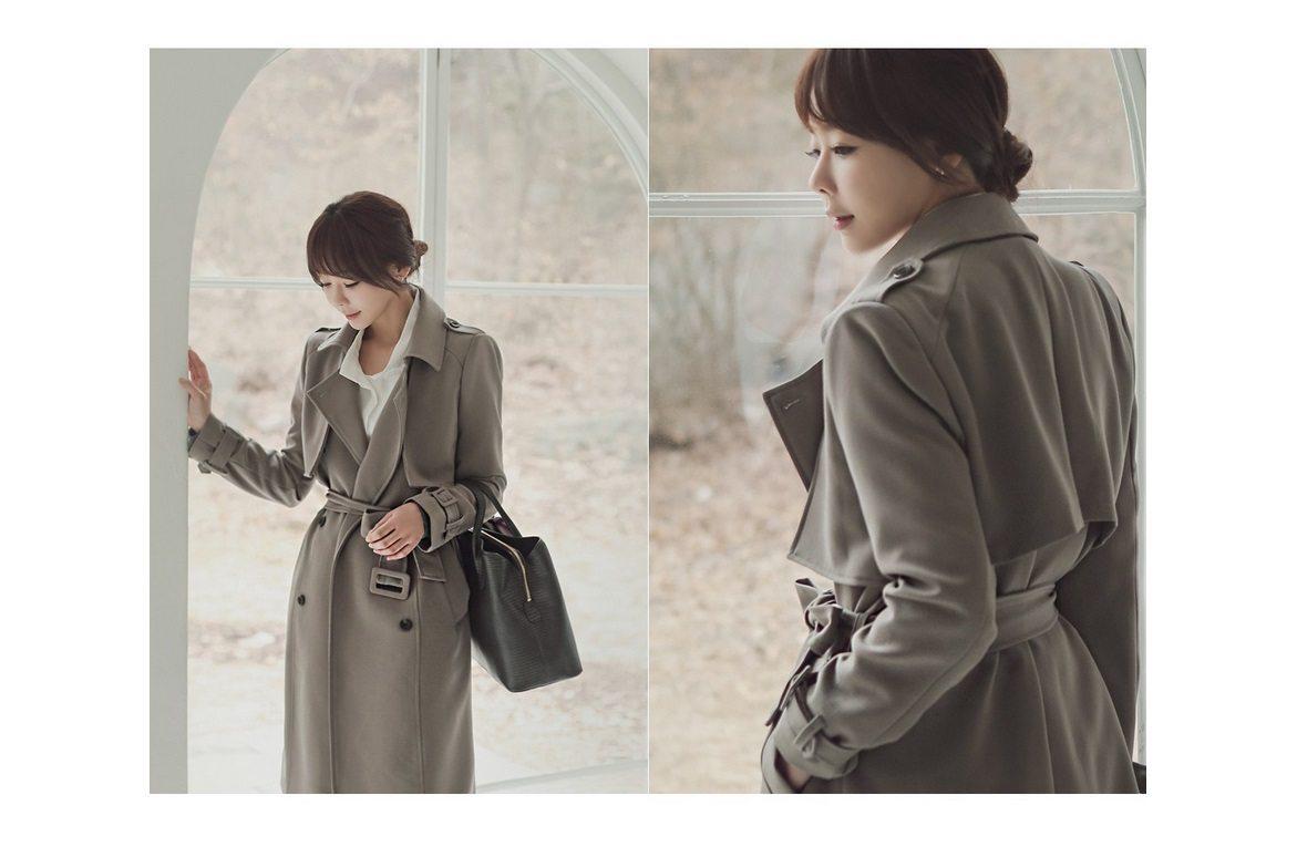 Basic Trench Coat Korean fasion 2015 online shop malaysia singapore brunei indonesia china6