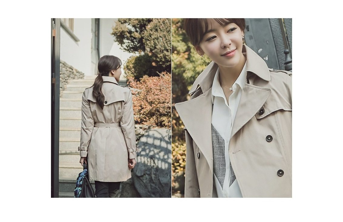 Combing Trench Coat Korean Jacket fasion shop malaysia germany france hongkong4