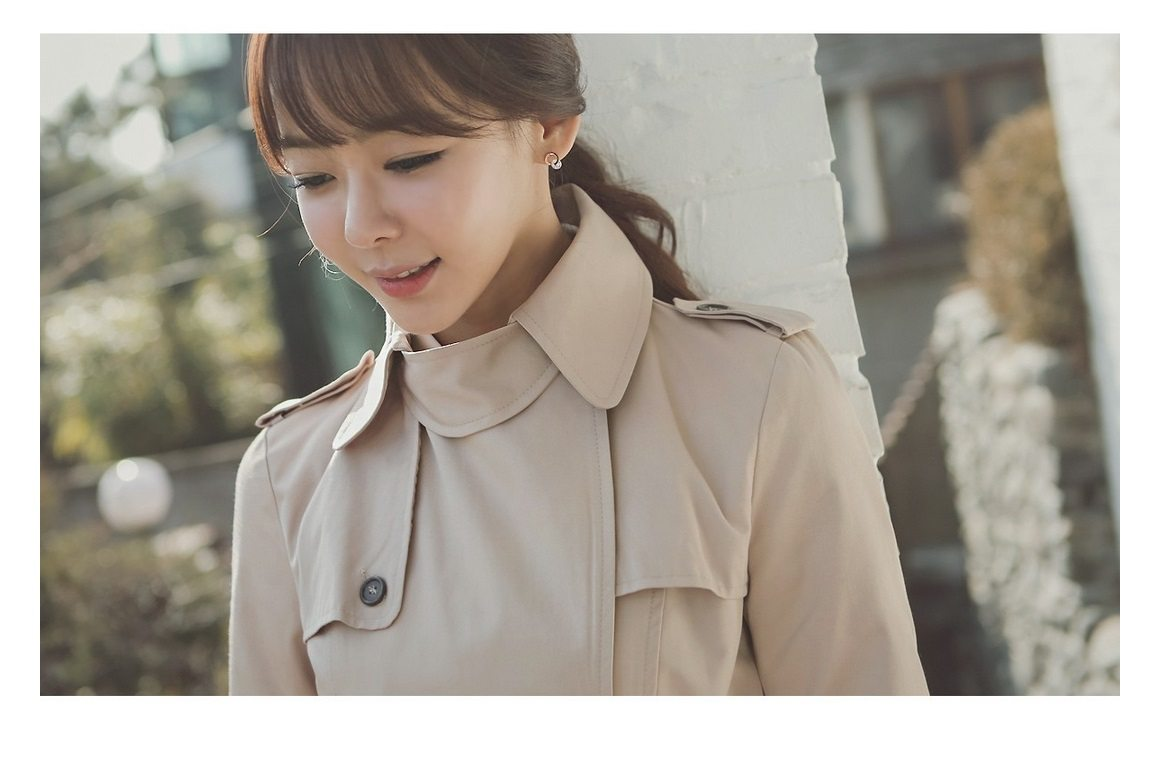 Combing Trench Coat Korean Jacket fasion shop malaysia germany france hongkong5