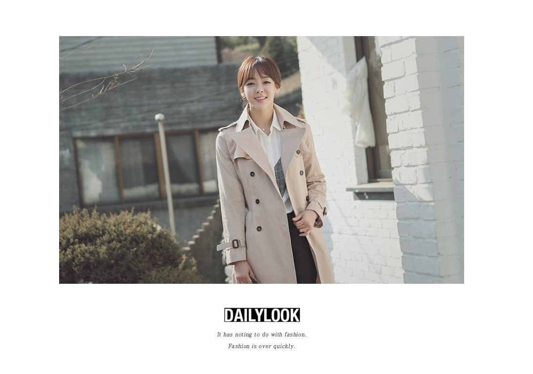 Combing Trench Coat Korean Jacket fasion shop malaysia germany france hongkong6