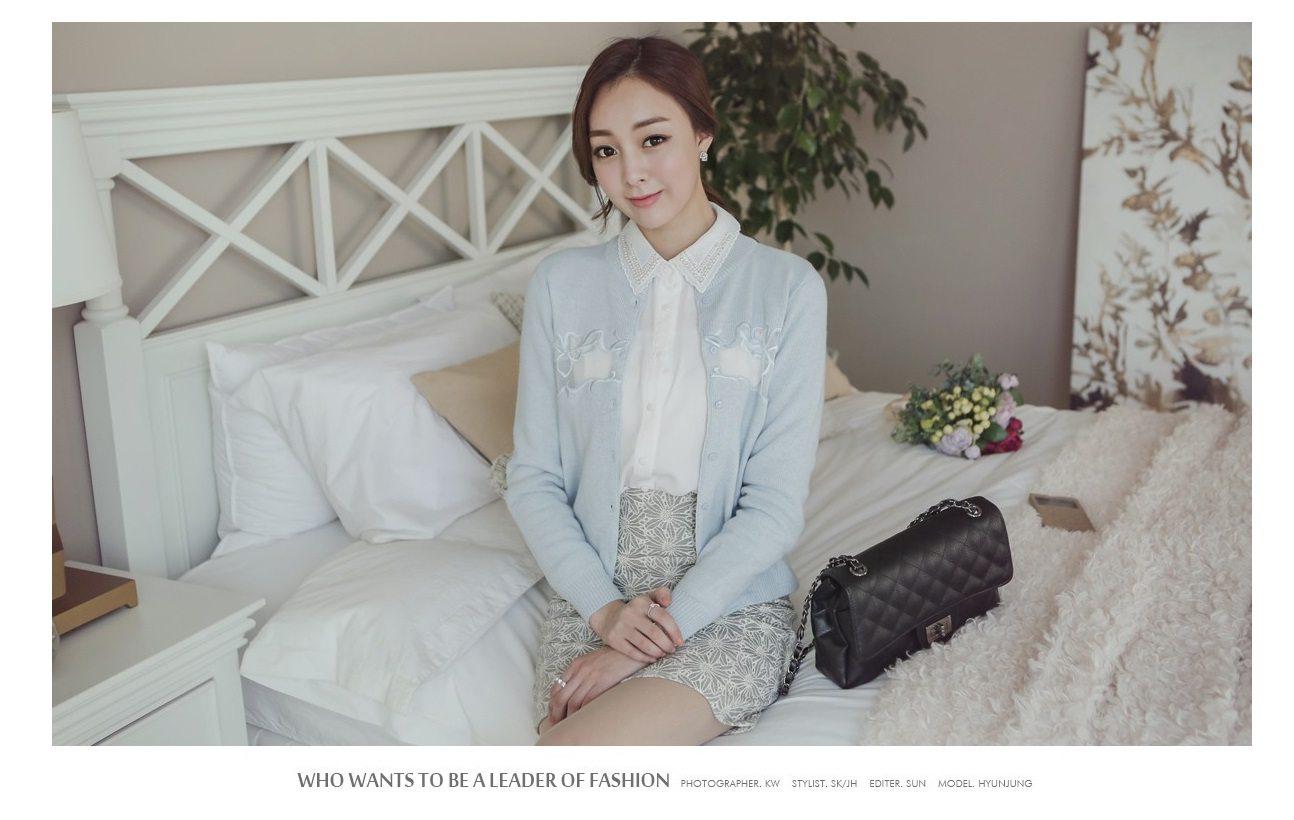 Korean Style Cardigan Online Malaysia Sweater Tunic
