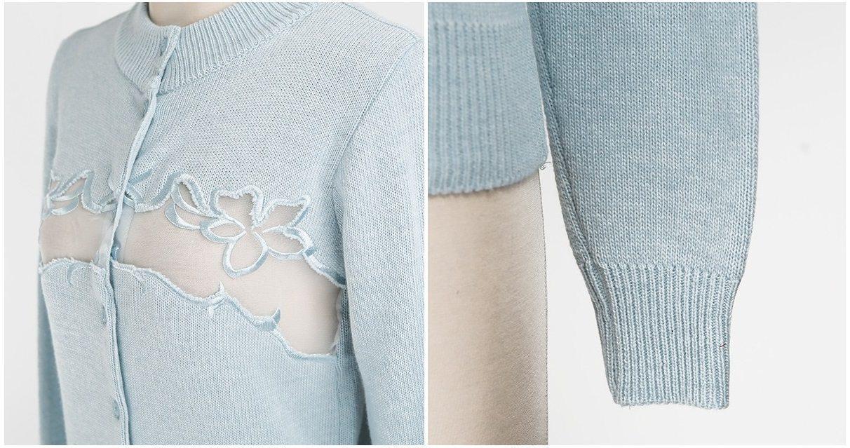 Embroidery Cardigan Korea fashion shop online malaysia singapore brunei12
